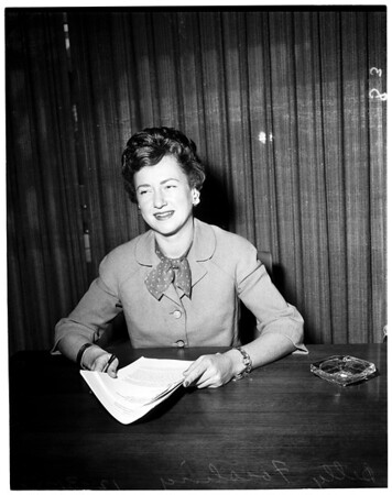 Housing Director for 1960 Democratic National Convention, 1958