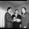 Football, Waller signs with New American League, 1960