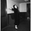 Sobriety test, woman driver in traffic death of pedestrian, 1952