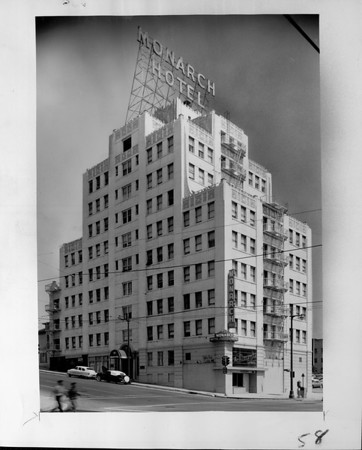 Nine-story Monarch Hotel