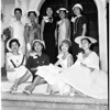 Nisei queen candidates, 1958