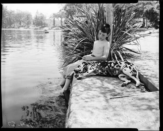 Hot weather Negative (MacArthur Park), 1957