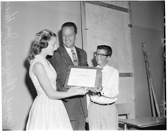 Journalism awards, 1957