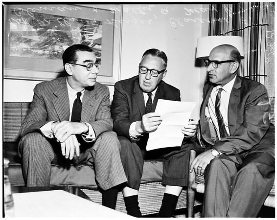 Anti Zionist, 1958
