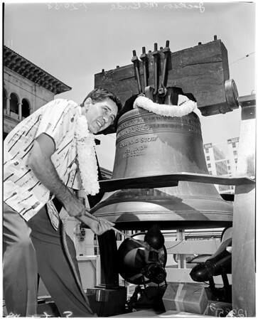 Hawaii tour for statehood, 1958