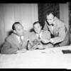 Halligan interview -- Ambassador Hotel, 1952