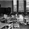 Iowa tests at Franklin High School, 1958