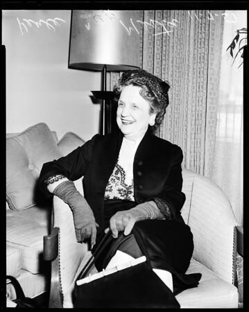 Perle Mesta, 1957