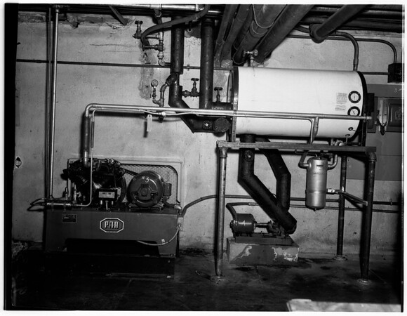 New water cooler setup, 1951