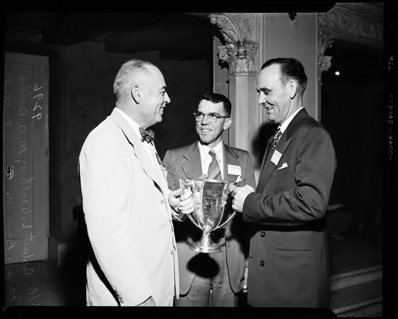 National Association of Life Underwriters, award, 1951