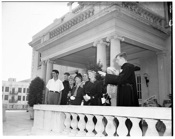 St. John of God Sanitarium open house, 1951