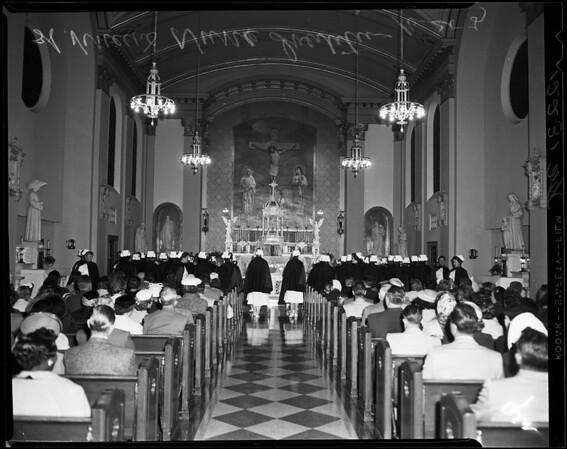 Saint Vincent's nurses, 1957