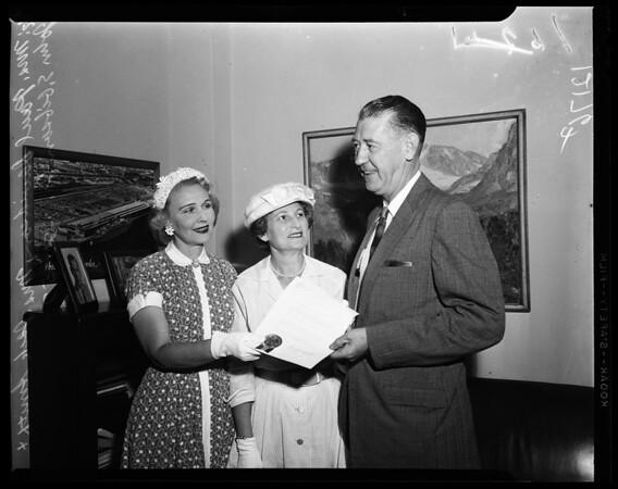 Hadassah month, 1957