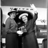 Theta Sigma Phi women in journalism fraternity, 1958