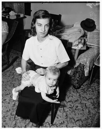 Child beating, 1951