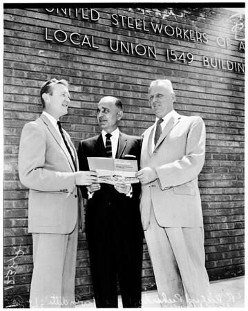 Union Oil building dedication, 1958