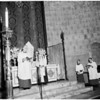 Maundy Thursday services at St. Paul's Episcopal Church, 1959