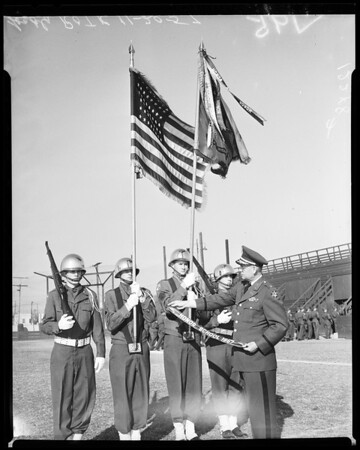 Loyola Reserve Officer Training Corps, 1957