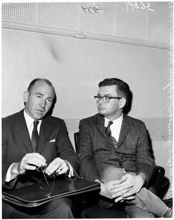 Morton murder hearing, 1961