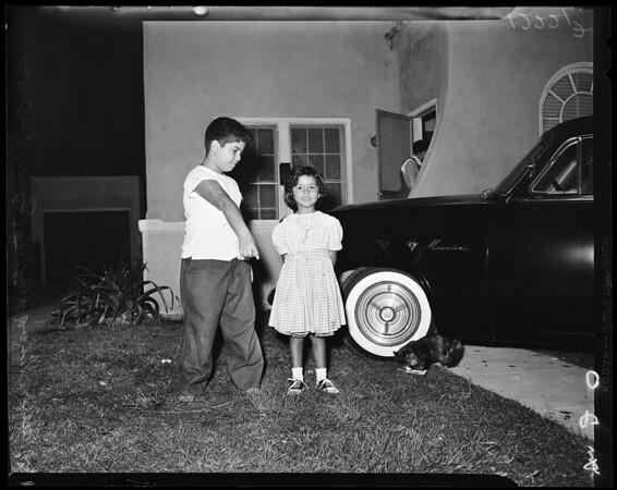Shooting in East Los Angeles, 1957