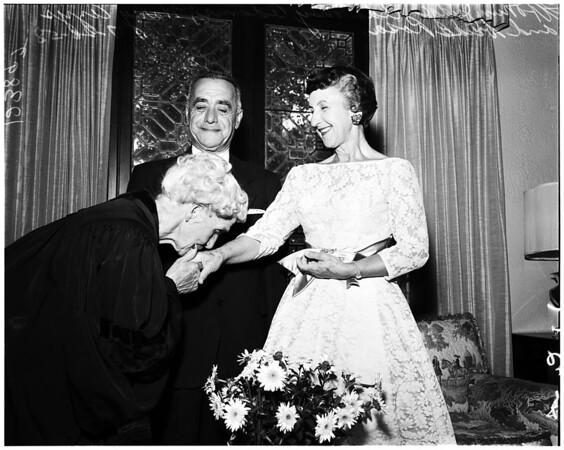Wedding in San Marino, 1958