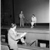 New Vic Theater auditions, 1957
