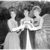 San Pedro High Homecoming Queen and Princesses, 1961