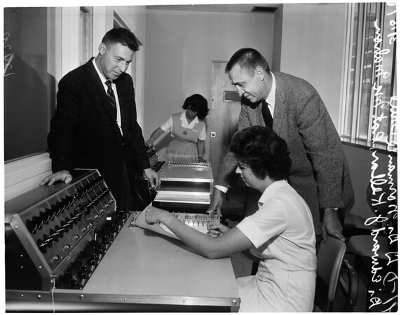 Neuropsychiatric facility at UCLA, 1961