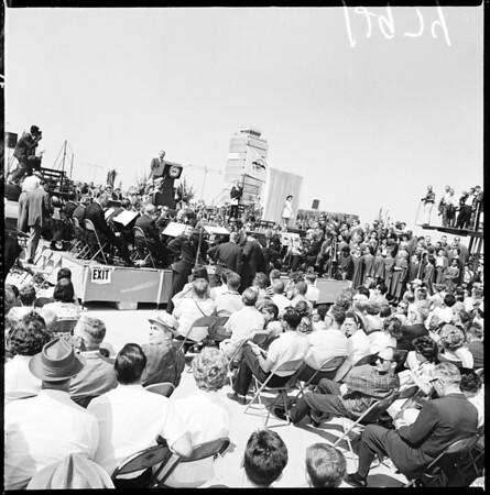 New airport dedication, 1961