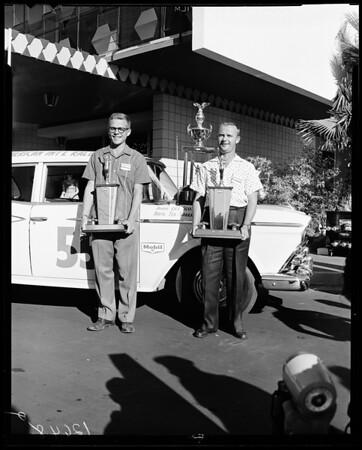First International Rally which concluded at Thunderbird Hotel, 1959