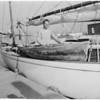 Lone sailor, 1958