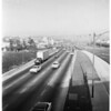 Detail 8 of 8, Four-car accident in which truck overturned on Hollywood Freeway inbound Vermont [Avenue], 1955