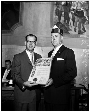 Proclamation, 1958