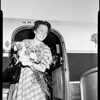 Departure, airport, 1951