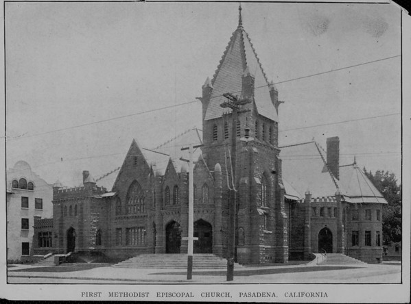 The Sunday School and Kindergarten of the First Methodist Episcopal Church in Pasadena