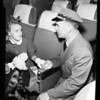 Departure for Frankfurt, Germany, 1951