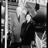 Airport arrival British ambassador, 1960