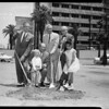 Osteopathic Hospital groundbreaking, 1957