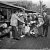 Mexican boys visit shop keeper, 1960
