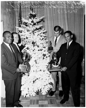 Football -- University of Southern California player awards, 1958