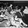 "Marion Davies Clinic children at Walt Disney ""Wonderland Party"" at Burbank studio, 1951"
