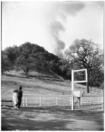 Sherwood fire, 1958