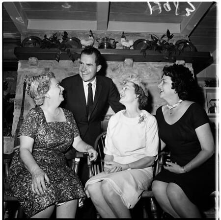 Richard Nixon parley, 1961