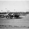 Horse racing at Hollywood Park, 1961