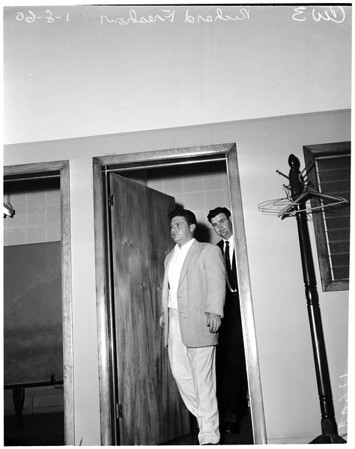 Freshour murder in Downey, 1960