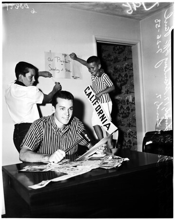 Boy's nation president, 1958