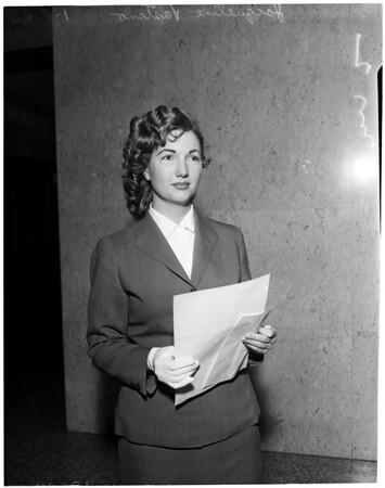 Vastano divorce, 1960