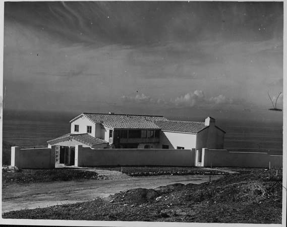 The architect C.E. Howard designed the home of Charles H. Towle on the streets Via Del Monte and Malaga Cove in Palos Verdes Estates