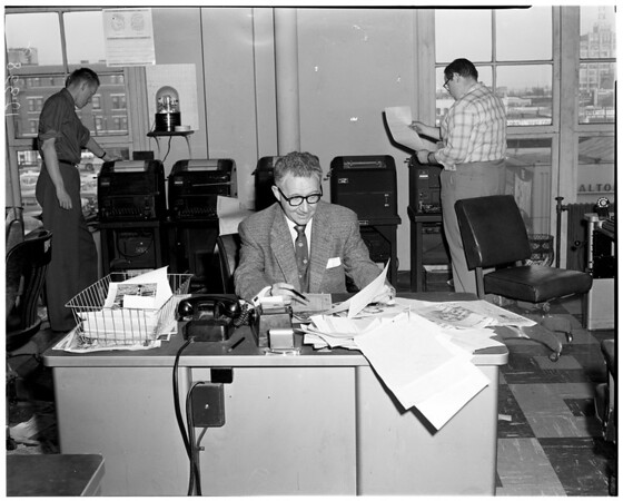 Ben Woolbert (Negative from Hearst national advertising), 1958