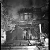 $25,000 fire on 2272 South Harvard Boulevard (at 25th Street), 1957